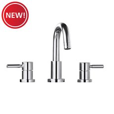 New! Polished Chrome 8 in. Widespread Faucet