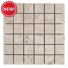 New! Tarsus Almond II Polished Porcelain Mosaic