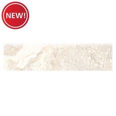 New! Tarsus Almond II Polished Porcelain Bullnose
