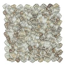 Pacific Beach Glass Pebble Mosaic