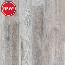 New! Highland Gray Rigid Core Luxury Vinyl Plank - Foam Back