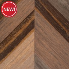 New! Raval Herringbone Hand Scraped Engineered Stranded Bamboo