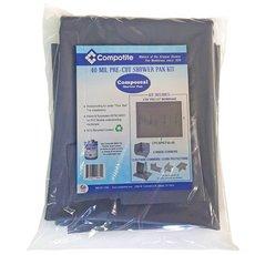Compotite 6x8 Pre-Cut Shower Pan Kit