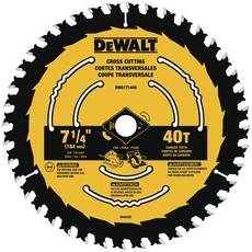 DeWalt 7 1/4 in. 40T Saw Blade