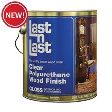 New! Clear Gloss Polyurethane Abs 50001 Wood Stain