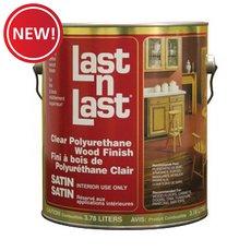 New! Satin Polyurethane Abs 50101 Wood Stain