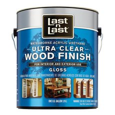 Clear Gloss Ultra Waterborne Abs 13001 Wood Stain