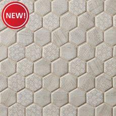 New! Wicker Park 2 in. Hexagon Glass Mosaic