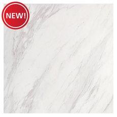 New! Montevino White Polished Porcelain Tile