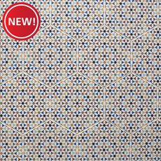 New! Moroccan Multi Matte Porcelain Tile