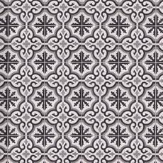 Equilibrio Black IV Encaustic Cement Tile