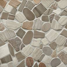 Mojave Tumbled Pebble Mosaic