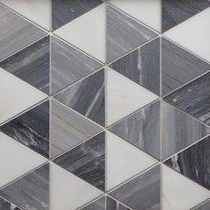 Nouvelle Palissandro Dolomite Polished Marble Mosaic