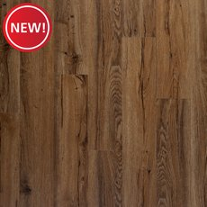 New! Auburn Oak Rigid Core Luxury Vinyl Plank - Foam Back