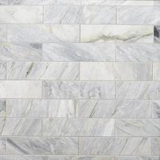 Calacatta Bluette Polished Marble Tile