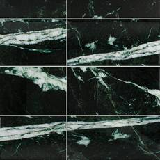 Verias Green Polished Marble Tile