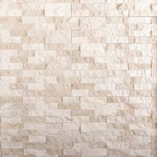 Coastal Bluff Marble Ledger Panel
