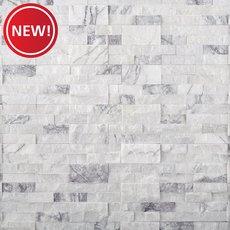 New! Amethyst Marble Ledger Panel