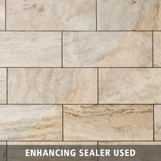 Sonoma Sand Brushed Travertine Tile