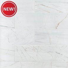 New! Rosso Venato Polished Marble Tile