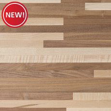 New! Walnut Maple Mix Butcher Block Countertop 8ft