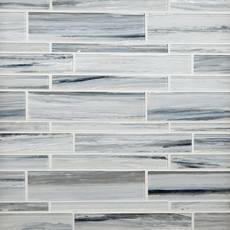 Misty Fjord Linear Glass Mosaic