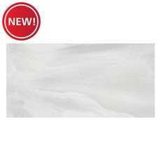 New! Serenity White Porcelain Tile