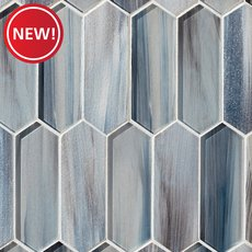 New! Daybreak Picket Glass Mosaic