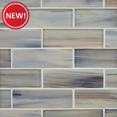 New! Sunrise 2 x 6 in. Brick Glass Mosaic