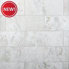 New! Bianco Orion Polished Marble Tile