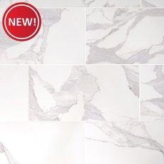 New! Dimarmi Bianco Polished Porcelain Tile