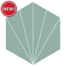 New! Kavala Aqua Matte Porcelain Tile