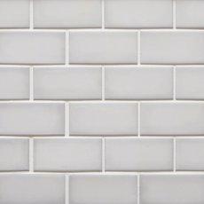 La Belle Purity 2 x 4 in. Brick Ceramic Mosaic