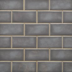 La Belle Nimbus Fog 2 x 4 in. Brick Ceramic Mosaic