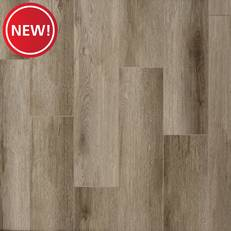 New! Misty Greige Rigid Core Luxury Vinyl Plank - Foam Back