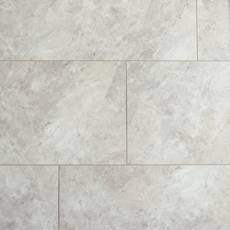 Light Grey Marble Rigid Core Luxury Vinyl Tile - Cork Back
