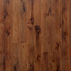 Espresso Hickory Rigid Core Luxury Vinyl Plank - Foam Back