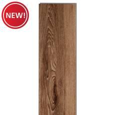 New! Spalted Caramel Rigid Core Luxury Vinyl Plank - Foam Back