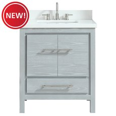 New! Riley 31 inc. Vanity with Engineered Top