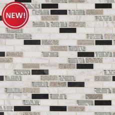 New! Taveuni II Brick Glass Tile
