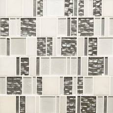 Parana Light Pattern II Glass Mosaic