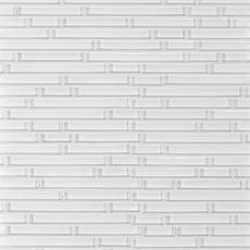 Snow II Linear Glass Mosaic