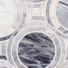Palais Cala Blue Waterjet Mosaic