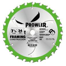Prowler 7 1/4in. 24T Wood Blade 2-pack