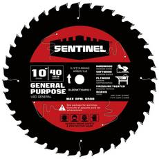 Sentinel 10in. 40T Wood Blade
