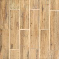 Mansfield Amber III Porcelain Wood Plank Tile