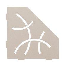 Schluter Shelf Pentagonal Corner Curve Cream