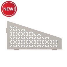 New! Schluter Shelf Quadrilateral Corner Floral Greige