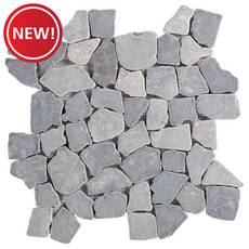 New! Masa Honed Pebble Mosaic