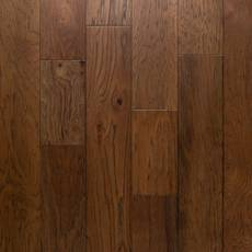 Cantrell Hickory Wire-Brushed Engineered Hardwood